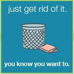 organize and de-clutter