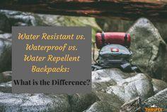 Waterproof vs. Water Repellent