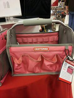 Pink tool bag @ Sears