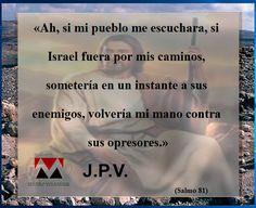 JESÚS PAN Y VIDA: Salmo 81