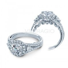 Engagement Rings 2017 Verragio halo Engagement Ring