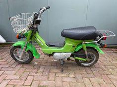 Honda - Chaly - 49 cc - 1980 Vintage Moped, Antique Auctions, Honda, Ceramics, Antiques, Ceramica, Antiquities, Pottery, Antique