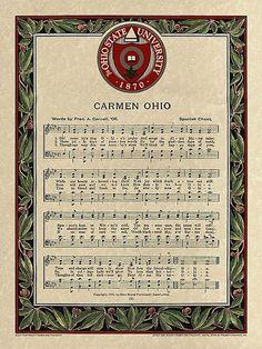 Carmen Ohio second verse