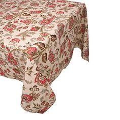 "Raymond Waites Rectangular Table Cloth - 60""x 84"" (Pali) Raymond Waites http://www.amazon.com/dp/B00P183KGM/ref=cm_sw_r_pi_dp_zSycvb15ECP5G"