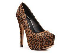 Dolce Vita Devon Leopard Calf Hair Pump