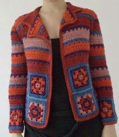BEY BEĞENDİ ÖRNEĞİ (GRANNY SQUARE) – Örgüpedi France is an independent nation in Western Europe and the biggest market of a large overseas administration. Gilet Crochet, Crochet Cardigan Pattern, Crochet Jacket, Crochet Blouse, Crochet Poncho, Crochet Granny, Crochet Baby, Irish Crochet, Cotton Crochet