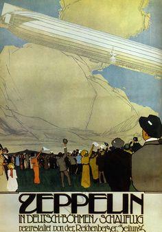 scientific american dirigible zeppelin cover - Google Search