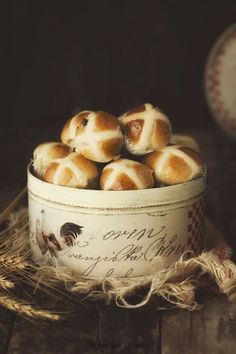 Kanela y Limón: Hot cross buns