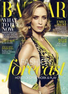 Emily Blunt, Harper's Bazaar Australia, November 2012
