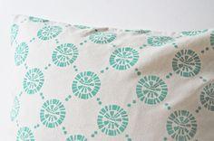 Circles : Teal Cushion Cover