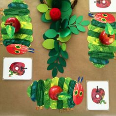 The Very Hungry Caterpillar birthday party! See more party ideas at CatchMyParty.com!