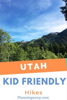 Are you looking for some kid friendly hikes in Utah? Great! In this post I am going to be focusing on the kid friendly hikes near Salt Lake City. Utah is our home state, and so we get to enjoy the mountains all the time! We know which hikes our kids love and which ones they hate! There are so many hikes near Salt Lake City that I could not possibly list all of them. I plan to add more to this list as I discover more amazing hikes! Cottonwood Canyon, Utah Hikes, Winter Travel, Salt Lake City, Great Places, Things To Do, Utah Vacation, National Parks, Hiking
