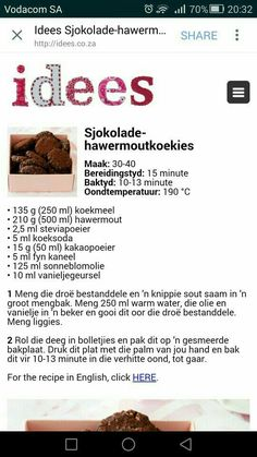 Baking Recipes, Cookie Recipes, Dessert Recipes, Desserts, Biscuit Cookies, Cupcake Cookies, 3 Ingredient Cookies, South African Recipes, Picnic Foods