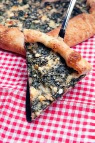 Spinach and Feta Crostata: Paired with a salad and/or fresh fruit, this makes a delicious lunch. Or cut it into smaller slices and serve it as an appetizer or hors d'oeuvre. Marvin Joseph   The Washington Post