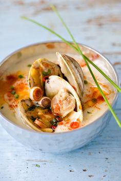 thai clam chowder