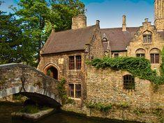 St Bonifacius' Bridge in Bruges, Belgium