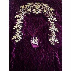 Muslim Prayer Mat, Gold Work, Dining Table In Kitchen, Like4like, Embroidery, Instagram, Design, Art, Block Prints