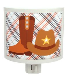 Take a look at this Plaid Boots Night-Light by Common Rebels on #zulily today!