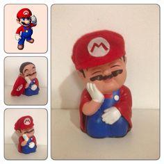 Colorful Mario Hippie Chic, Buddha, Mario, Diy, Fictional Characters, Home Decor, Make Art, Diy And Crafts, Creativity