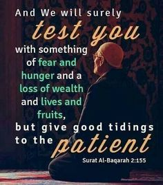 Be strong brothers and sisters. May Allah Azza Wa Jalla pleased with us when we meet Him (: