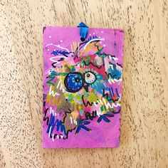 Merry Morepork/Owl Decoration Pink (3) Nativity, Fun Facts, Gift Wrapping, Owl, Merry, Sparkle, Decoration, Pink, Christmas