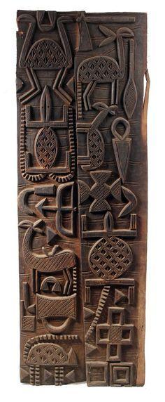 Fine Nupe door, Nigeria