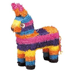 Piñatas are used in parties, they are decorated container of paper or clay, they consist of small toys and sweets. Traditional the piñatas where created the seven deadly sins. Once the piñata is opened the treads represent for the pleasures of life.