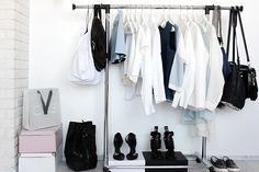 walk-in closet, white interior, Scandinavian interior, Nordic interior frichic.com