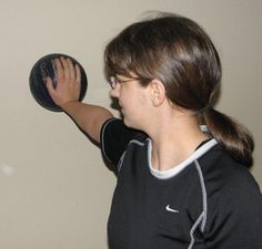 Simple Archery Exercises - for stronger back shoulder muscles and better control of bow arm