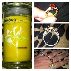 @diamondcandles  Love the candles and the surprises inside!