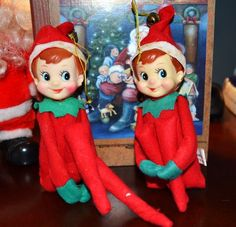 My mom loved these Christmas elves.