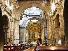 Inside the Merida cathedral in Venezuela.  I studied abroad in Merida, Venezuela in 1997