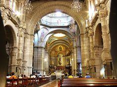 Dentro de la Basilica Catedral de Merida, Venezuela