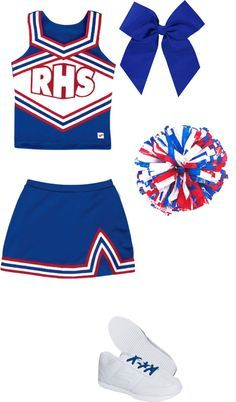 Cheerleading outfit by fashionistamiley ❤ Cheer Practice Outfits, Cheer Outfits, Dance Outfits, Kids Outfits, Cheer Costumes, Halloween Costumes For Girls, Cheerleading Uniforms, Cheer Uniforms, Cheerleading Workouts