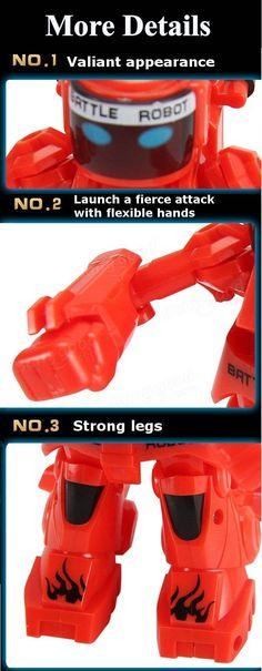 2.4G RC Robot Intellegent Boxing Battle Robot Toy Sale - Banggood.com