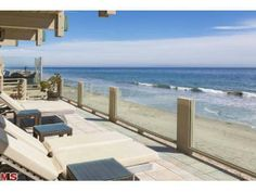 The ultimate beach front home. Malibu, CA Coldwell Banker Residential Brokerage $15,495,000