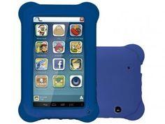 """Tablet Multilaser Kid Pad 8GB 7"""" Wi-Fi Android 4.4 - Proc. Quad Core Câmera R$ 299,90 em até 5x de R$ 59,98 sem juros no cartão de crédito  ou R$ 278,91 à vista Integrada"""