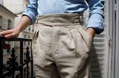 Luxire Gurkha trousers