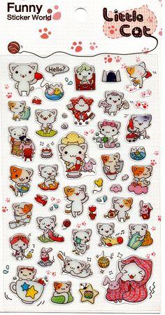 Stickers Little Cat