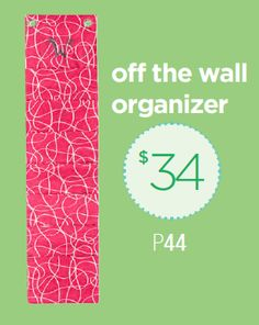 Off the Wall Organizer. Page 44 http://initials-inc.com/