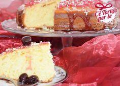 Per la #colazione oppure per la #merenda, la #torta soffice yogurt e amarene è sempre ottima.  Scopri la dolce ricetta di @Peccati Di Dolcezze per Valle'...
