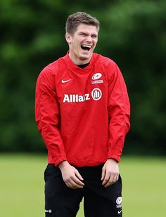 The cutest photo of Owen Farrell yet!!!   By H