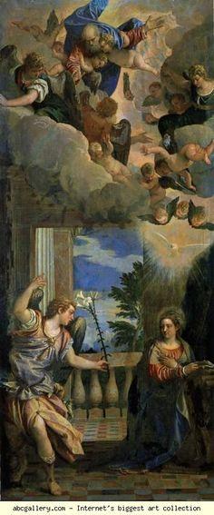 Paolo Veronese. Annunciation.