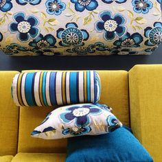 @hatch_home - Caledonia Color Accents, Accent Colors, Warwick Fabrics, Living Room Inspiration, Fabric Patterns, Color Palettes, Pillow Covers, Chairs, Textiles