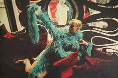 Twiggy at BIBA, for Jóia magazine August 1967 Biba Fashion, Vintage Fashion, Teen Fashion, Costume, Twiggy, Fashion Labels, Fashion Stylist, Psychedelic, Editorial Fashion
