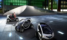 TWIZY Urban Electric Vehicle