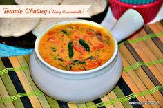 Tomato Chutney using coconut milk   Tomato Chutney recipe