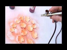 Airbrushing Basics for Cake Decorating - YouTube