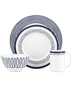 kate spade new york Charlotte Street East Collection - Casual Dinnerware - Dining & Entertaining - Macy's