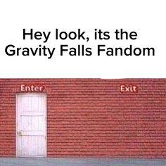 Hey look, its the gravity falls fandom
